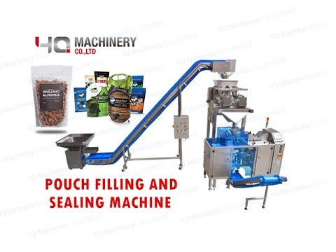 Simple Type Doypack Machine For Granules 丨pouch Bag Filling And Sealing Machinery