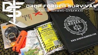 SURVIVAL BOXES   ALPHA   BEST Budget Survival Box?