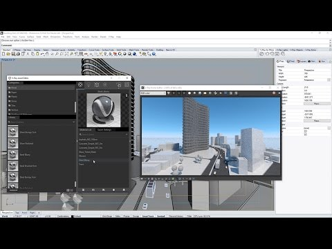 V-Ray For Rhino – Quick Start: Intro For Architects