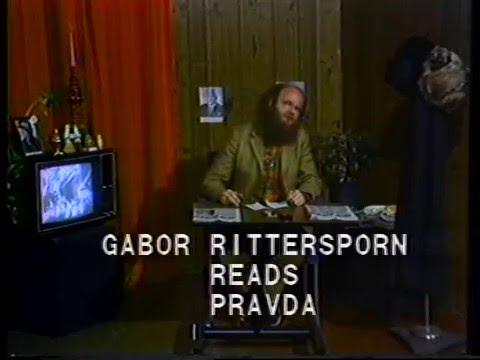 Gabor Ritterspoon Reads: Pravda
