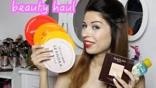 Beauty Haul: Sephora, The Body Shop, L