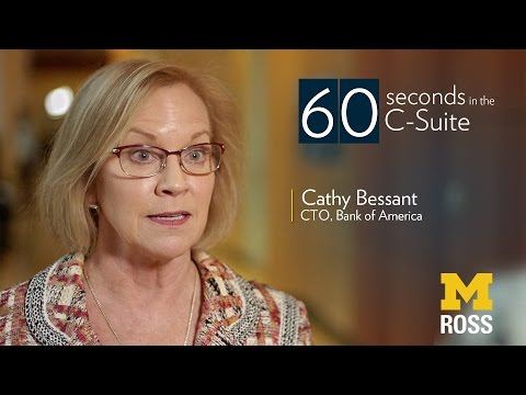 Chief Technology Officer of Bank of America - 60 Seconds in the C-suite