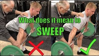 Sweep=Squeeze=Lat Engagement: Drill Included! with Coach Don McCauley