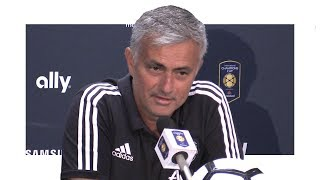Barcelona 1-0 Manchester United - Jose Mourinho Post Match Press Conference - Man United Tour 2017