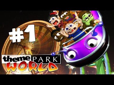Theme Park World #1 - Otwieramy park! [PL]