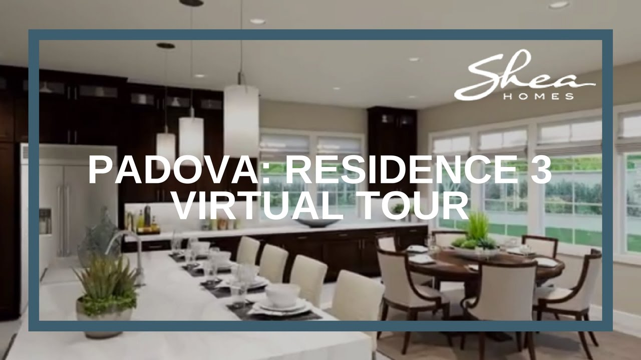 Shea Home Design Studio Irvine   Padova Residence 3 Virtual Tour Youtube