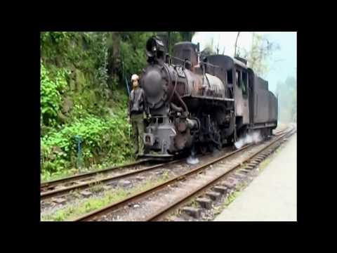 Shibanxi Schmalspurbahn China
