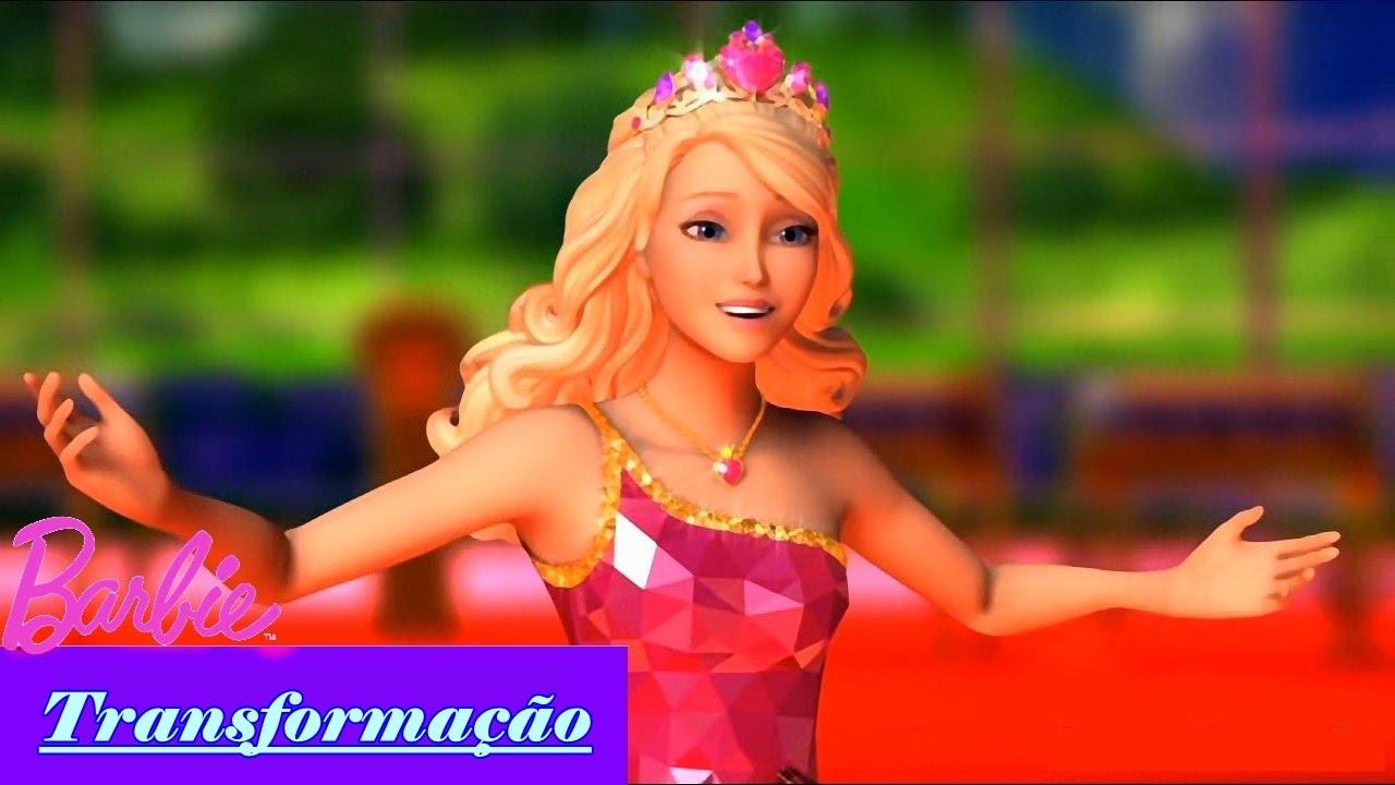 Barbie Escola de Princesas   Transformação - Princesa Sophia (Blair)   BARBIE FILMES BR