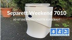 Separett Weekend 7010 - So funktioniert die Trenntoilette von Separett