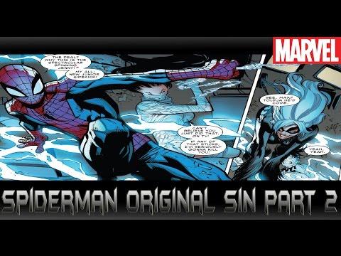 แมงมุมผู้ตกเป็นเหยื่อ[Spiderman Original Sin]comic world daily