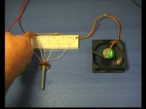 Fan speed control  circuit 1  YouTube