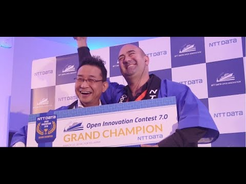 NTT DATA Open Innovation Contest Trailer 2018-2019