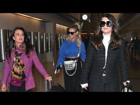 Lisa Vanderpump Leaves L.A. With RHOBH Co-Stars After 'Sad Week' Losing Two Dogs