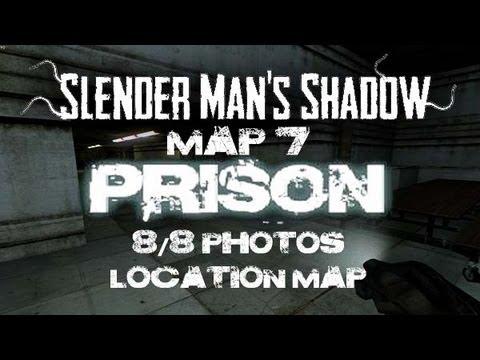 Slender Prison Short Montage Glitches + 8/8 Photos Location Map