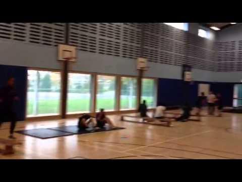 Yr11 GCSE PE fitness circuits S3 7