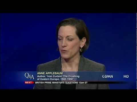 "Anne Applebaum, Author, ""Iron Curtain"""
