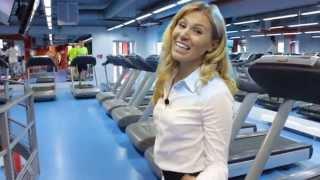 видео фитнес клуб с бассейном