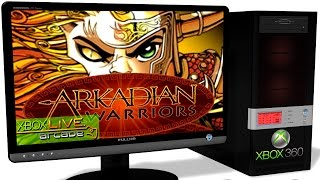 XENIA Xbox 360 Emulator - Arkadian Warriors (2007). Ingame. Master-Build. Test #1