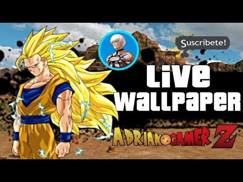 Dragon ball z mejores live wallpapers para android youtube - Free dragonfly wallpaper for android ...