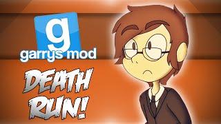 GMod Deathrun! - BANANA MINIGAME & MINI LADD CLUTCH! (Garrys Mod Funny Moments)