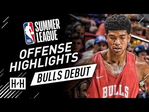 Chandler Hutchinson Full Offense Highlights at 2018 NBA Summer League - Chicago Bulls Debut!