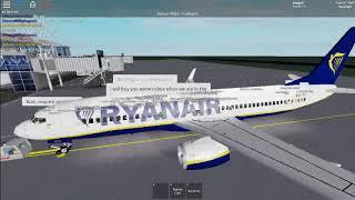 Roblox Ryanair flight Wroclaw!