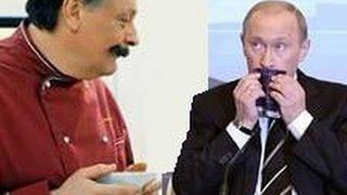 Путин в ресторане Клод Моне. Кухня в Париже
