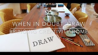 When In Doubt, Draw:  Divya Marie Kato