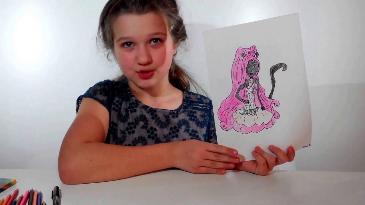 Обзор набора кукол Monster High Пугающие рокеры Торалей Страйп и .
