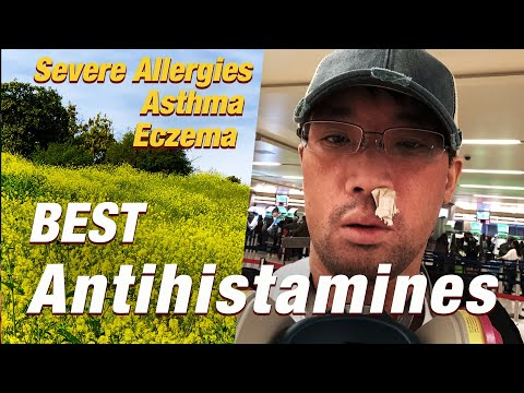 Best Antihistamines for Severe Allergies, Itching, Asthma, MCAS. H1 & H2 blockers | Ep.208