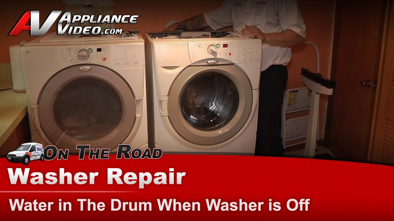 Whirlpool Washer Repair Water In The Drum When Is Off Ghw9200lw0