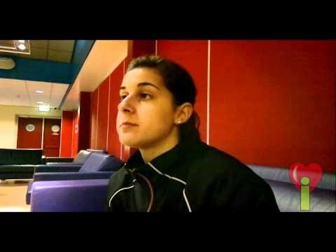 Interview Carolina Marin - EC landenteams 2012