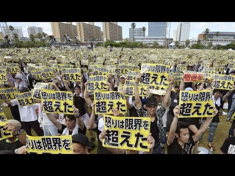 65k Protest US Bases In Okinawa Over Criminal Activity