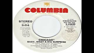 Chicago - Baby, What A Big Surprise (1977) HQ