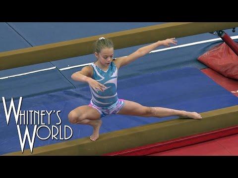 Balance Beam Training | Whitney Bjerken