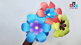 How to make beautiful and decorative paper Flower?