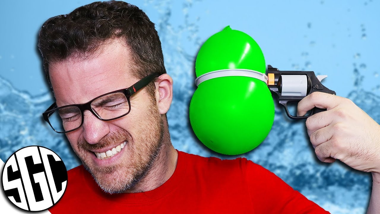 water balloon roulette challenge