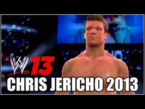 WWE 13 - CAW Spotlight: Chris Jericho (2013 With Tattoo's) By Defract (Xbox 360)