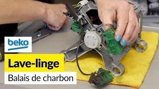 Remplacement des Balais de Charbon sur une Machine à Laver Beko