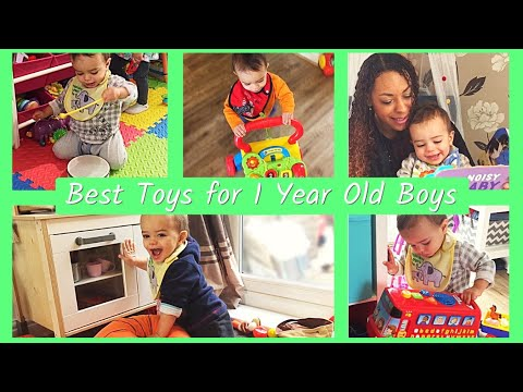 Present ideas for 1 year old boy australia