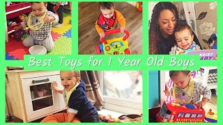 Top 10 Toys For 1 Year Old Boys   The Best Toys For Toddlers 2018!