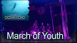 nobody.one - March of Youth. New! Презентация альбома OCEAN ECHO. Москва, клуб VOLTA (2014) 15/21
