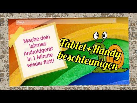 Android Handy Tablet beschleunigen - schnell und einfach!