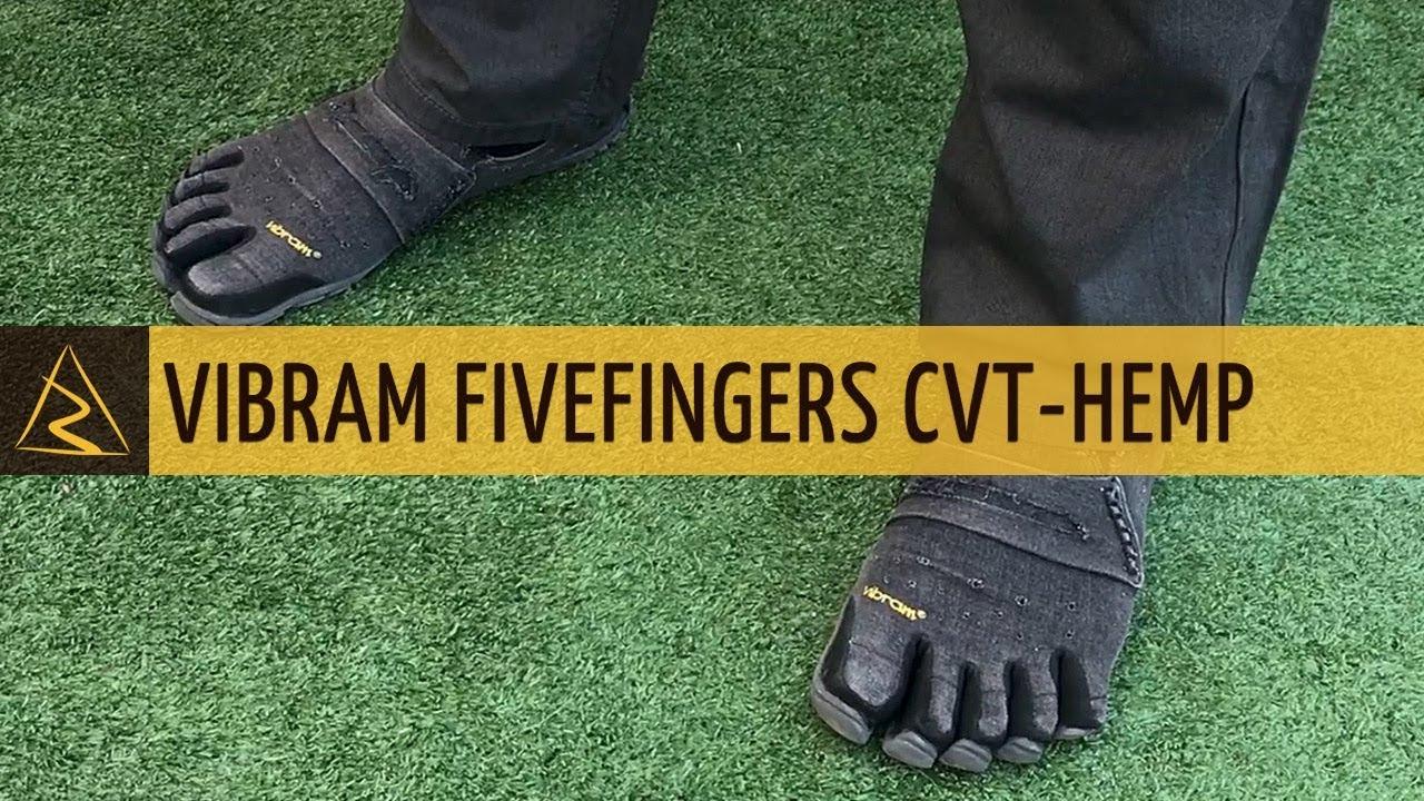 Vibram FiveFingers CVT Hemp Black
