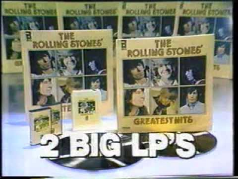 The Rolling Stones Greatest Hits 1978 Album Commercial