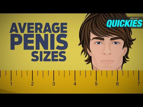 Average Penis Sizes with Best Sex Positions | Quickies