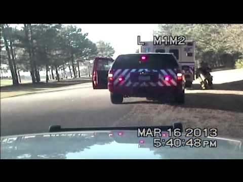DASH CAM: Video released from night of Windsor Green Fire x 2