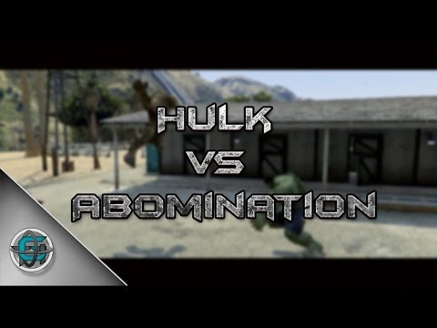 Hulk vs Abomination | GTA V Short Film