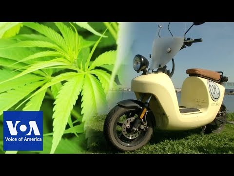 This Scooter is Made Out of Hemp