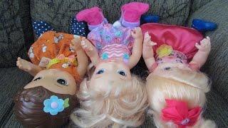 Pulando no sofá da MAMÃE - Baby TWOZIES - Novelinha da Baby Alive.